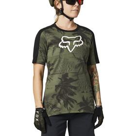 Fox Ranger Dri-Release Foxhead SS Jersey Women, Oliva